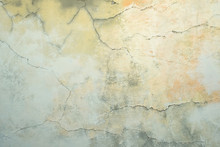 Old Discoloured Painted Wall