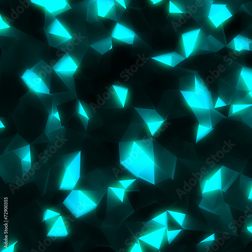 hi-tech abstract geometric shining background