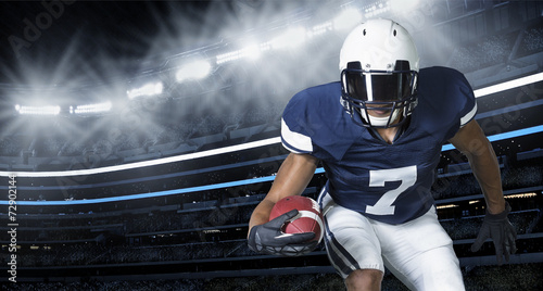 Fotografie, Obraz American Football Game Action Photo