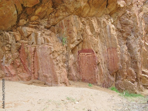 Photo  The Jesse gap or Atherrke in the Northern Territory