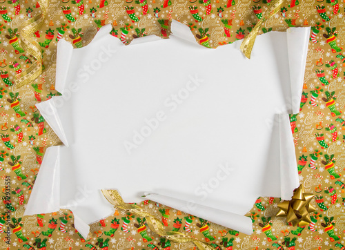 Unwrapping Gifts Canvas Print