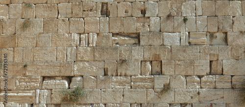 Zdjęcie XXL Kamienie płaczu w Jerozolimie