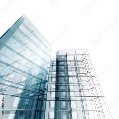 Architektonische Konstruktion