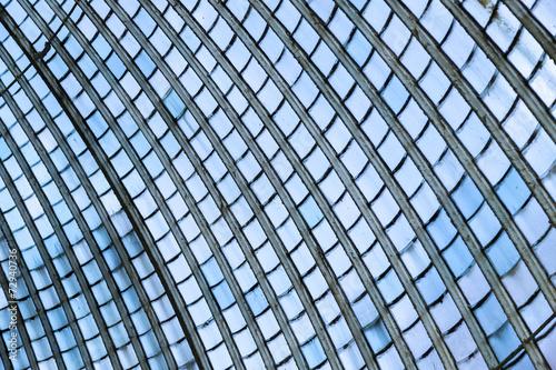 Staande foto Industrial geb. glass wall