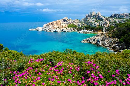 Sardinia Coast - Capo Testa - Italy Tablou Canvas