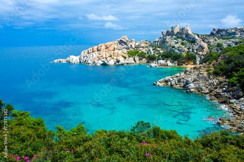 Photo  Sardinia Coast - Capo Testa - Italy
