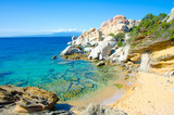 Fototapeta Landscape - Sardinia Coast - Capo Testa - Italy