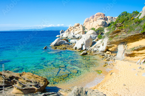 Photo Sardinia Coast - Capo Testa - Italy