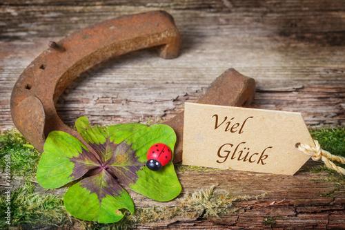 Fotografía  Viel Glück