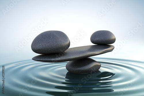 Fotografía  Zen stones balance