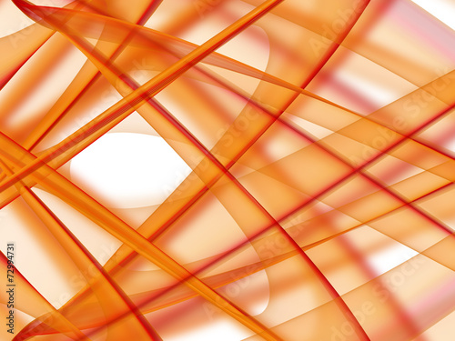 Orange abstract background with shadows.