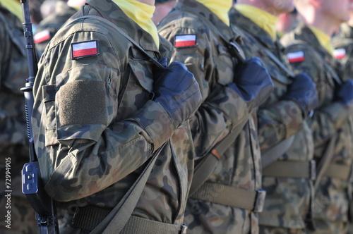 Fotografía  Los soldados polacos