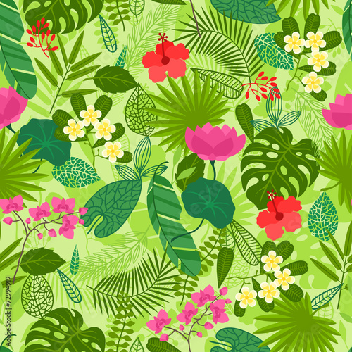 seamless-pattern-with-tropical-plants-leaves