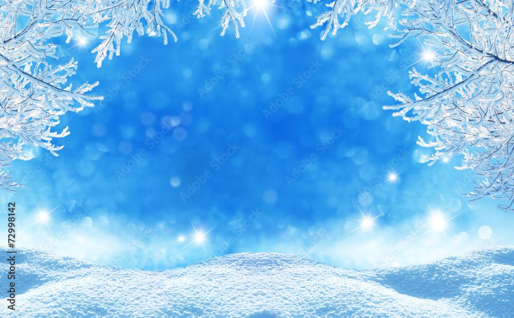Fotografia winter  christmas background