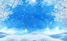 Winter  Christmas Background