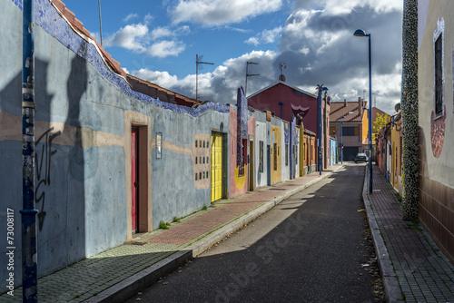 Fotografía  Barrio Belén Valladolid