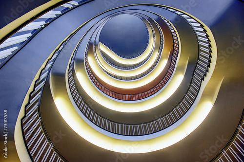 Papiers peints Spirale spiral staircase