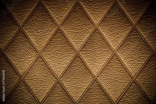 Fotografia  Vintage Golden leather pattern