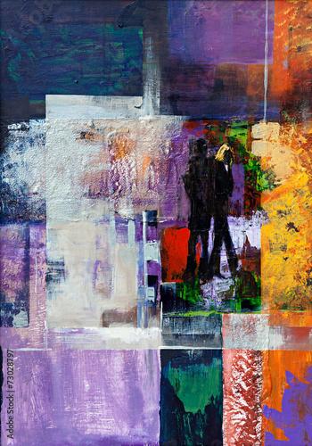 postmodernistyczny-obraz-zmieszane-farby-grafika-na-plotnie