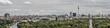 Leinwanddruck Bild - Berlin panorama