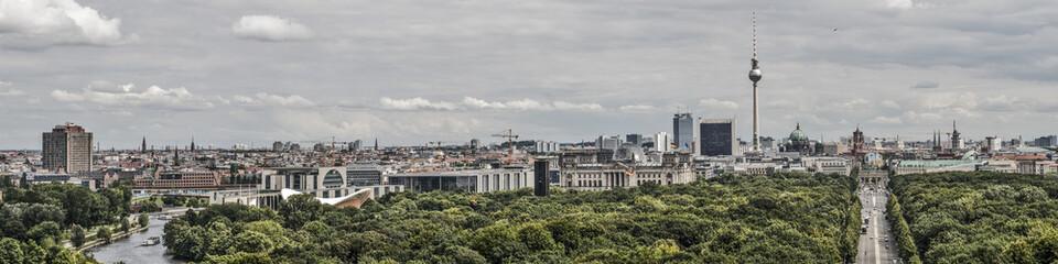 Panel Szklany Podświetlane Berlin Berlin panorama