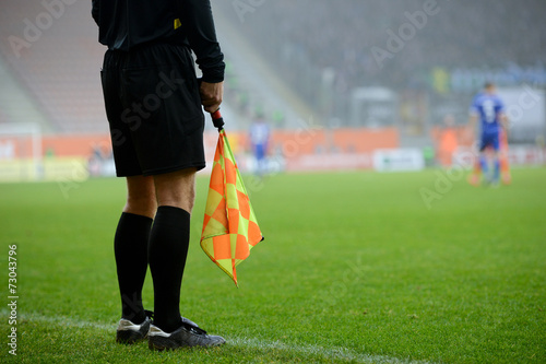 Fotografering  Soccer raferee