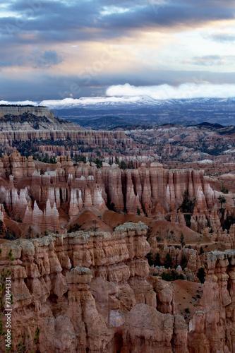 Bryce Canyon Sunrise Canvas-taulu