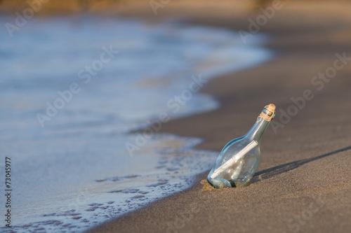 Fotografie, Obraz  Messaggio v bottiglia