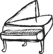 doodle simply music piano