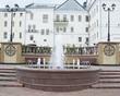 Fountain in Vitebsk, Belarus