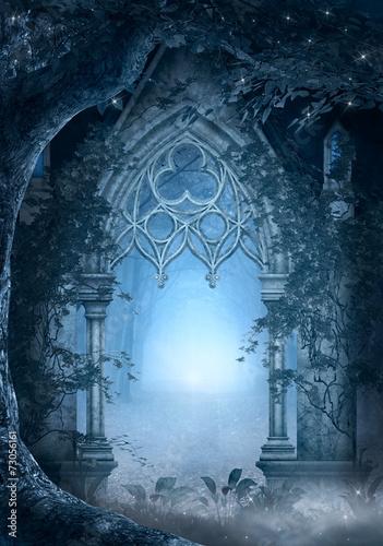 Fototapeta Blue passage obraz