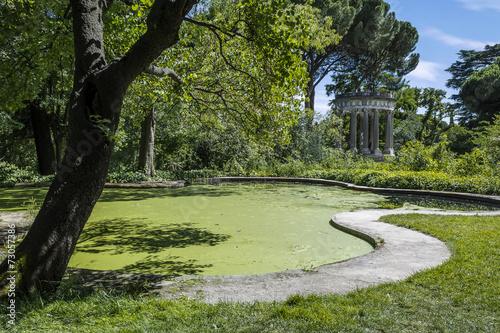 Fotografie, Obraz  Estanque Parque del Capricho