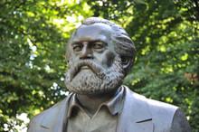 Karl Marx, Skulptur, Kommunism...
