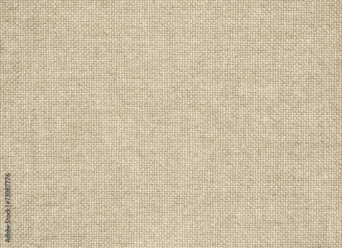 Wall Murals Fabric Clean brown burlap texture. Woven fabric