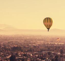 fototapeta balony w Meksyku