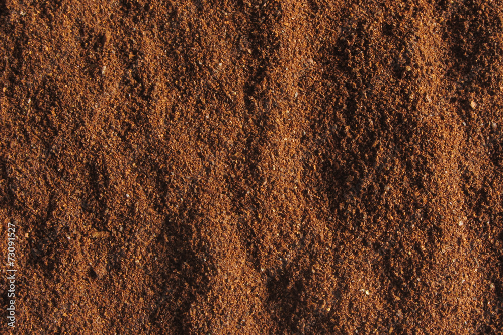 coffee ground texture