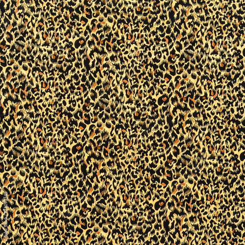 Foto op Aluminium Luipaard texture of fabric striped leopard