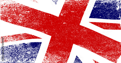 Fotomural Union Jack Fade