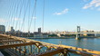 sunset brooklyn bridge empire view 4k time lapse from ny