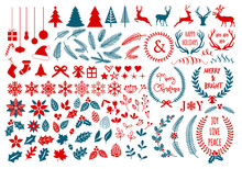 Christmas Design Elements, Vec...
