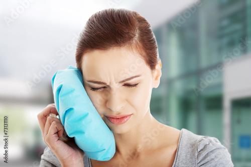 Fotografia  Woman having toothache