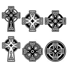 Irish, Scottish Celtic Cross O...