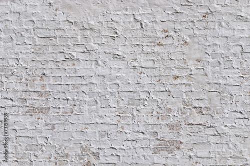 Poster Baksteen muur Vintage Brick Wall