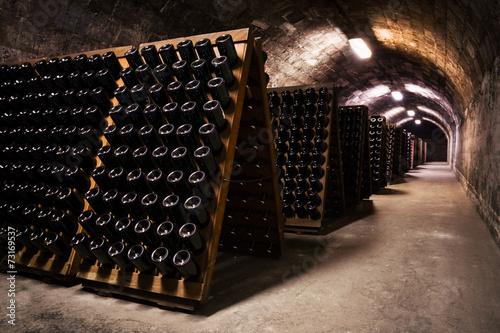 beverage storage cellar Fototapet