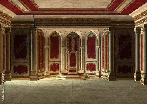 Fairytale Throne Room #73169987