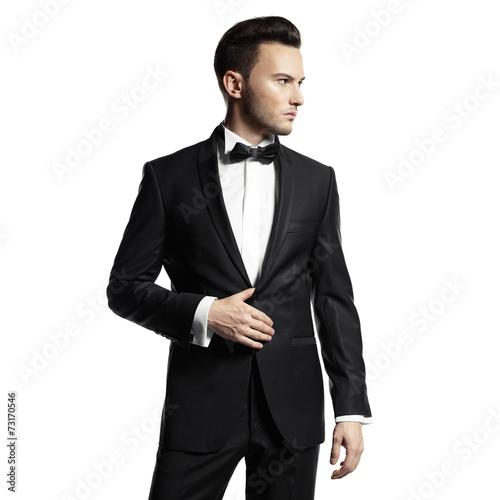 Obraz na płótnie Handsome stylish man