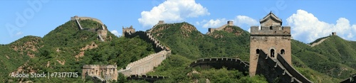 Spoed Foto op Canvas China Die Chinesische Mauer bei Jinshanling