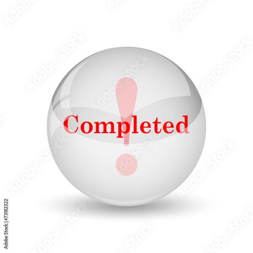 Fotografía  Completed icon
