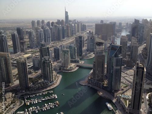 Tuinposter Dubai marina