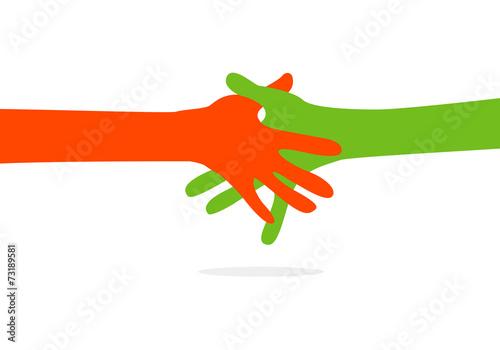 Fotografía  hands together